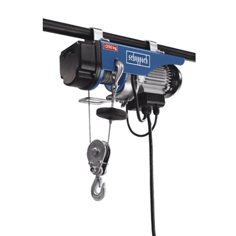 Imexco, Electric rope hoist 220-240V 50Hz 530W - 250kg